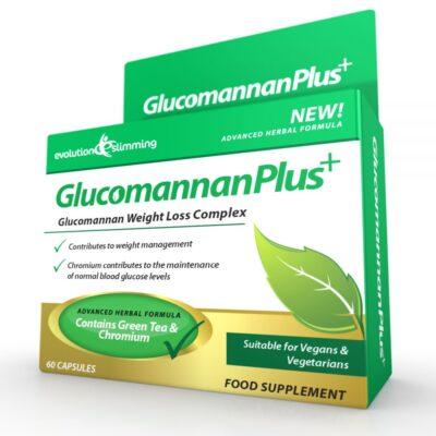 GLUCOMANNAN PLUS+