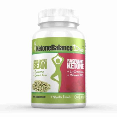 KETONE BALANCE DUO - RASPBERRY KETONE & GREEN COFFEE