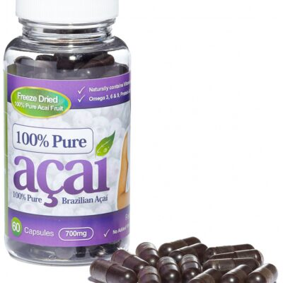 100% PURE ACAI BERRY 700mg.