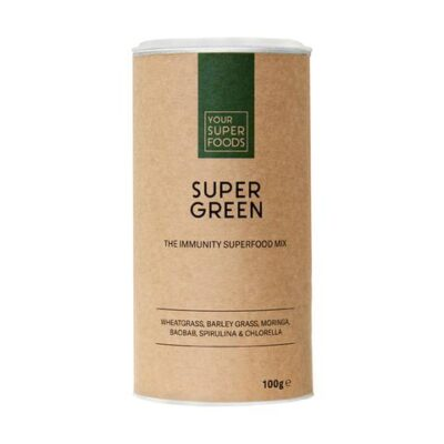 SUPER GREEN MIX - YOUR SUPERFOOD