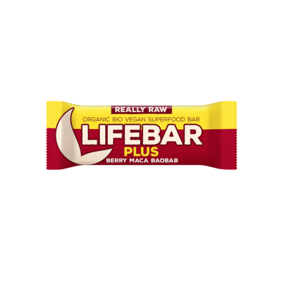 LIFEBAR PLUS - MACA E BAOBAB