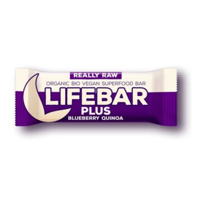 LIFEBAR PLUS - MIRTILLO E QUINOA