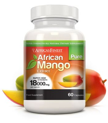 AFRICAS FINEST PURE AFRICAN MANGO EXTRACT 18.000mg.