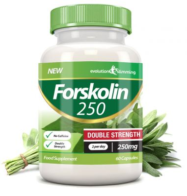 FORSKOLIN PURE 250mg. DOUBLE STRENGHT