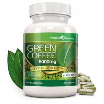 GREEN COFFEE BEAN PURE 6000mg.